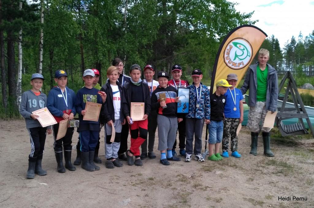 Kesäleiri 2017 Liikapuron tekoallas