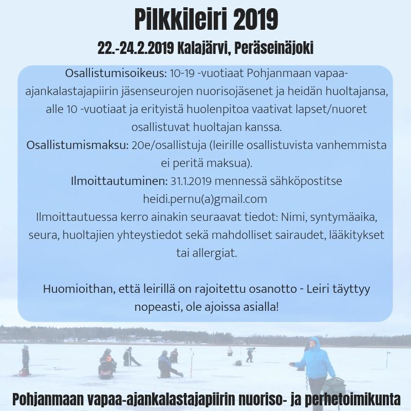 Pilkkileiri 2019